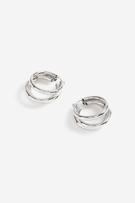 Topshop 3 Tube Hoop Earrings