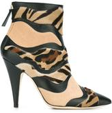 Alberta Ferretti pointed toe ankle boots