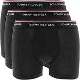 Tommy Hilfiger Underwear 3 Pack Trunks Black