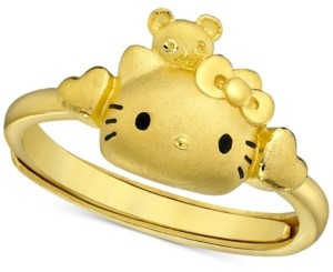 Chow Tai Fook Hello Kitty Statement Ring in 24k Gold