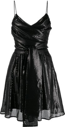 MSGM sequins cocktail dress