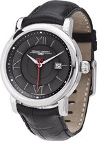 Jorg Gray Italian Leather Charcoal Dial Men's watch #JG7200-24