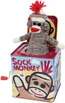 Schylling Sock Monkey Jack in the Box