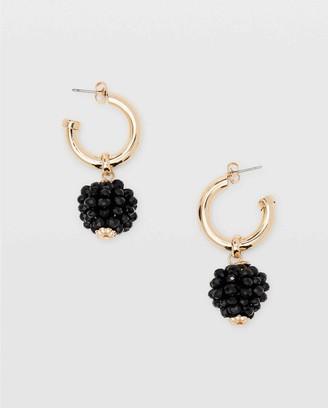 Club Monaco Bead Charm Earrings
