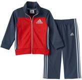 adidas Baby Boy Striped Sport Track Jacket & Pants Set