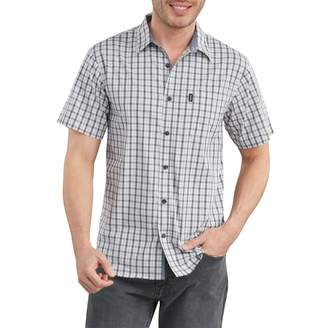 Dickies Men's X-Series Yarn-Dyed Plaid Button-Down Shirt