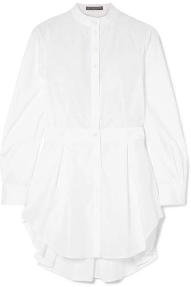 Alexander McQueen Cotton-poplin Shirt - White