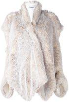 Chalayan open shoulder jacket - women - Acrylic/Polyester/Viscose - 38