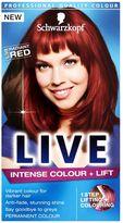 Schwarzkopf LIVE Intense Colour + Lift L38 Radiant Red Hair Dye