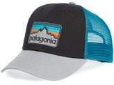 Patagonia Men's Logo Badge Trucker Hat - Black