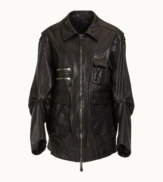 Tod's Field Jacket in Leather