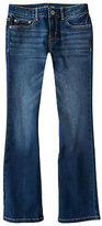 P.s. From Aeropostale Aeropostale Kids Ps Girls' Dark Wash Core Bootcut Jean Slim Blue