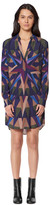 Mara Hoffman Long Sleeve Shirt Dress