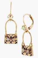 Betsey Johnson 'Paris' Handbag Drop Earrings