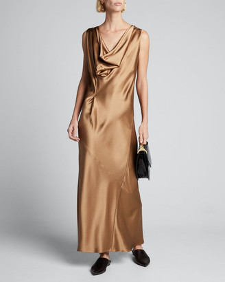 Zero Maria Cornejo Liana Long Satin Dress