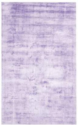 Pottery Barn Teen Solid Viscose Rug, 8'x10', Lavender Hush