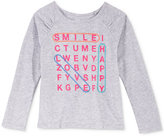 Epic Threads Mix and Match Crossword Graphic-Print T-Shirt, Toddler & Little Girls (2T-6X), Only at Macy's