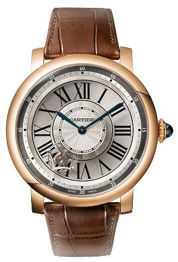 Cartier Rotonde de Astrotourbillon 18 kt Rose Gold Men's Watch