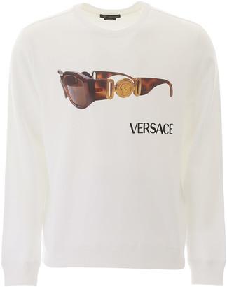 Versace Medusa Biggie Print Sweatshirt