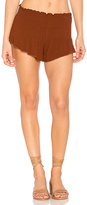 Blue Life Festival Beach Bunny Short in Brick. - size L (also in M,S,XS)