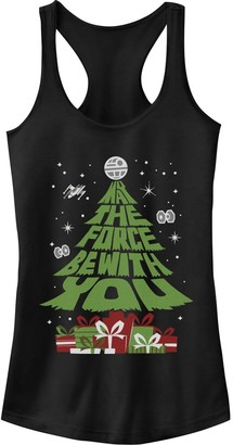 Star Wars Juniors' May The Force Be With You Christmas Tree Tank