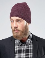 French Connection Textured Beanie Hat
