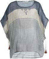 Mes Demoiselles Werner striped cotton-gauze kaftan