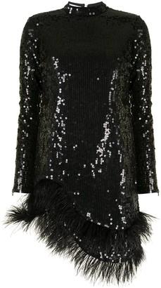 Rachel Gilbert Ellis sequin-embellished dress