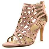 Adrienne Vittadini Gala Women Open Toe Suede Pink Sandals.