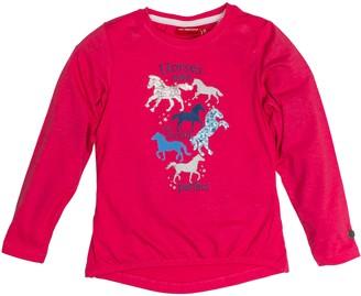 Salt&Pepper Salt and Pepper Girl's Longsleeve Horses My World T-Shirt