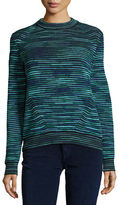 M Missoni Chunky Space-Dyed Wool-Blend Sweater