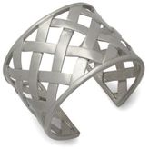Kenneth Jay Lane Woven Sterling Silver Cuff Bracelet
