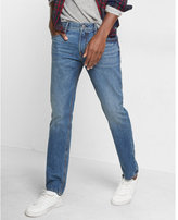Express slim leg slim fit medium wash jeans
