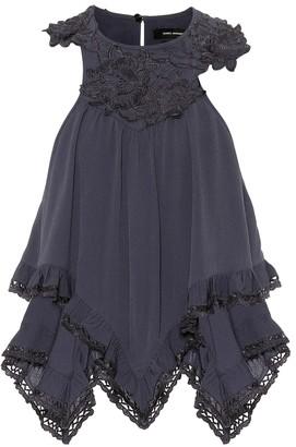 Isabel Marant Lupita appliqued crepe blouse