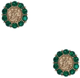 Dolce & Gabbana crystal-embellished cufflinks