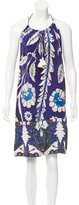 Figue Printed Silk Dress