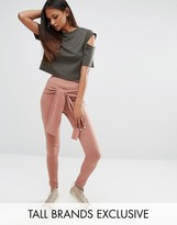 One Day Tall Legging With Wrap Front Detail