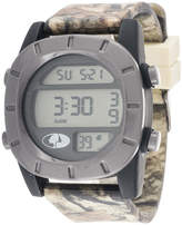 JCPenney Mossy Oak Mens Multicolor Strap Watch-Mow036bk-Gy
