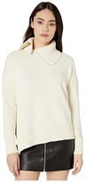 AllSaints Witby Zip Jumper (Chalk White) Women's Clothing