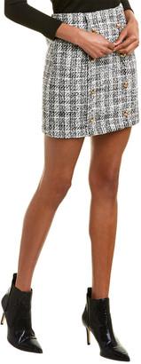 City Sleek Tweed Mini Skirt