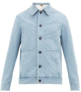 Barena Venezia - Soraman Stonewashed Cotton Denim Jacket - Mens - Denim