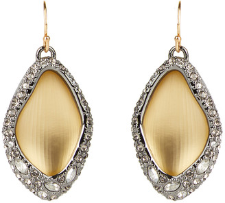 Alexis Bittar Pave Encased Drop Wire Earring