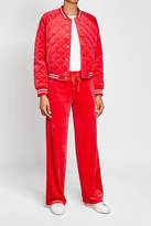 Juicy Couture Quilted Velvet Bomber