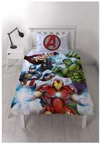 Marvel Avengers Strike Single Duvet Cover Set