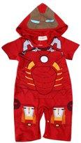 StylesILove Baby Boy Hoodie Costume Jumpsuit (18-24 Months)