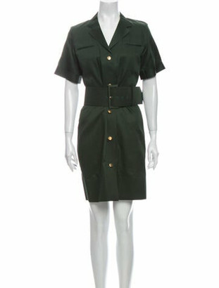 Celine Knee-Length Dress Green