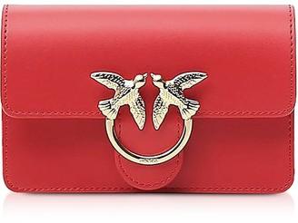 Pinko Red Love Baby Simply Shoulder/belt Bag