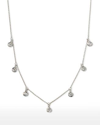 Roberto Coin 18k 7-Station Diamond Dangle Necklace
