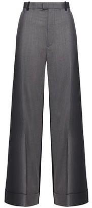 Maison Margiela Wool-twill Wide-leg Pants