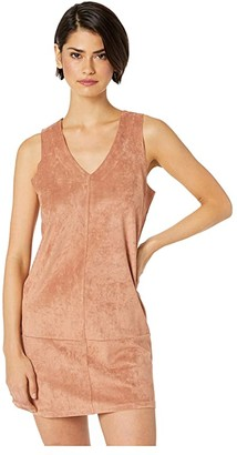 Bishop + Young V-Neck Dress (Adobe) Women's Dress